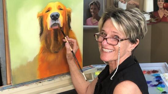Finding community, making art, bringing smiles