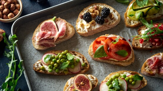 Whatever the Occasion, Bruschetta Fits Right In