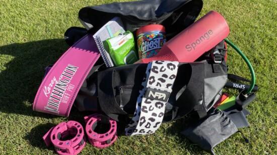What's in my Gym Bag - Karey Northington