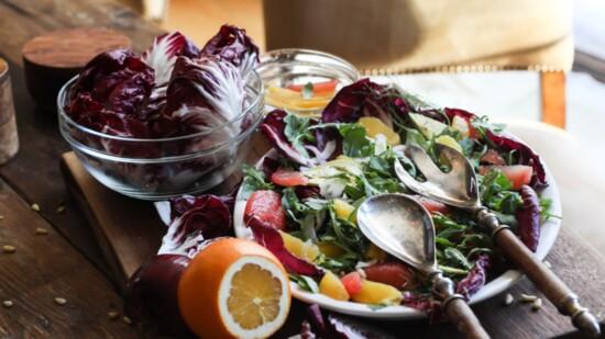 Winter Citrus Avocado Salad