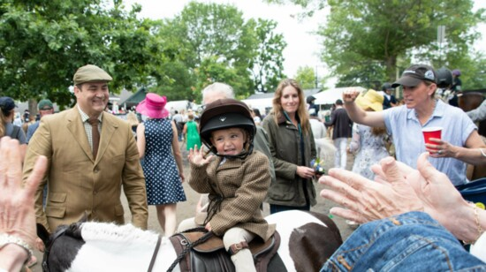 You Don't Cover Upperville -- You Experience It