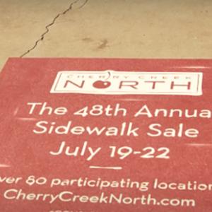 Cherry Creek North Sidewalk Sale