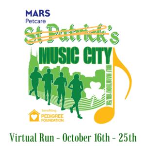 Mars Petcare 14th Annual St. Patrick's Music City Virtual Run