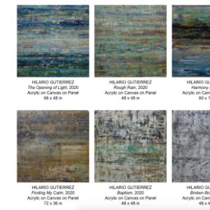 Smith Klein Gallery Presents New Works by Hilario Gutierrez