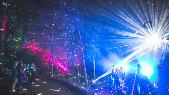 Terra Luna: A Light and Sound Experience by Quixotic